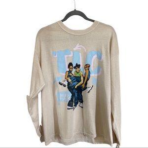 TLC long sleeve unisex shirt-LG New